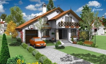 Proiecte case cu mansarda si terasa laminas de plastico for Proiecte case cu etaj si terasa