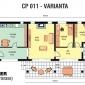 Varianta noua pentru casa cu parter CP011