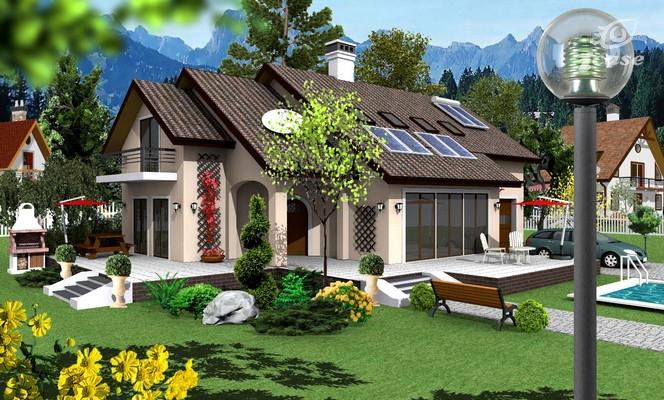 Detaliu proiect de casa casa cu etaj ce 033 proiecte for Planuri de case